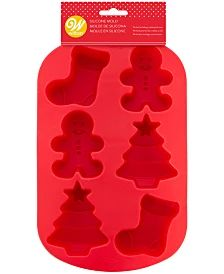 Wilton Nutcracker Candy Mold & Reviews - Bakeware - Kitchen - Macy's Holiday Treats, Holiday Gifts, Santa Cookies, Christmas Planning, Stocking Tree, Christmas Tree Wreath, Tree Shapes, Candy Molds, Chocolate Gifts