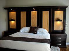 Beautiful Custom Bedroom Wall Units