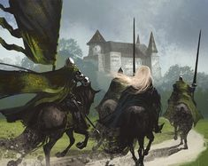 """Highgarden Honor Guard"" by Tomasz Jedruszek"