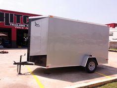 V-nose Enclosed Lark Cargo Box Trailer & Utility Heavy Equipment Car Hauler Trailers Hitch It Trailer Sales, Trailer Parts, Service & Truck Accessories  305 W. Kenosha #BrokenArrow #Oklahoma #HitchIt #918Trailers #trailersales #trailer #RZR #Ranger #Polaris #Racecar #lawnmower #landscaping #TrailerParts #SidebySide #Honda #Lark #Cargo 918-286-7900 www.HitchItBA.com www.918Trailers.com  www.facebook.com/TulsaTrailerSales Car Hauler Trailer, Box Trailer, Trailer Hitch, Trailer Sales, Trailers For Sale, Enclosed Utility Trailers, Landscaping Equipment, Truck Accessories, Heavy Equipment