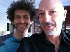 Steve Smith & JoJo Mayer - two of my top five favorite drummers today!!