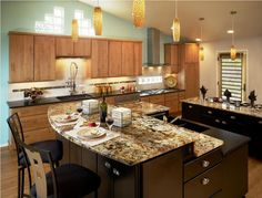 Kitchen Island with Breakfast Bar Ideas - http://www.on-bankruptcy.com/kitchen-island-with-breakfast-bar-ideas/