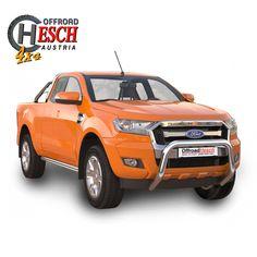 Frontschutzbügel Ford Ranger - hohe Version, Edelstahl Poliert Ford Ranger, Offroad, Stainless Steel, Off Road
