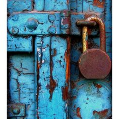 Blue via Polyvore