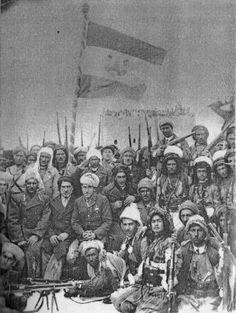 1946'ê de Mehabad, dema Komara Kurdistanê.1946'da Mehabad, Kürdistan Cumhuriyeti zamanlarında.