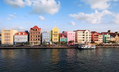 The distinctively colorful houses in Willemstad, Curacao. (From: PHOTO: 10 Most Romantic Islands in the World!)
