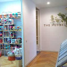 We Are Knitters at the Popup Store The Hovse in Madrid