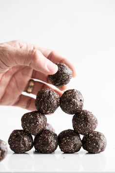 Super Seed Chocolate Protein Bites Recipe by Oh She Glows   Maypurr