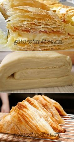 Tasty puff pastry in 10 minutes- Tasty puff pastry .- Вкусное слоеное тесто за 10 минут- Вкусное сл… Tasty puff pastry in 10 minutes – Tasty puff pastry in 10 minutes – # bestpastryinparis - Baking Recipes, Dessert Recipes, Cooking Cookies, Puff Pastry Recipes, Food Platters, No Cook Meals, Fall Recipes, Food And Drink, Tasty