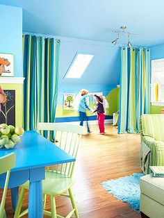 These easy, inexpensive ideas can help transform your home and add creative spaces your kids will love.