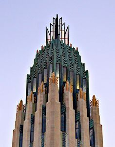 I feel like I want to call Zule from the top of there! Bruce Goff, Boston Ave. Church