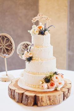 Texas Ranch Wedding by Flora and Fauna - Southern Weddings Magazine Rustic Wedding Backdrops, Rustic Wedding Photos, Rustic Wedding Reception, Wedding Cake Rustic, Wedding Ideas, Rustic Cake Stands, Wedding Cake Stands, Wedding Cakes With Flowers, Cake Flowers