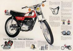 1978 Yamaha dt 175 brochure - Google Search