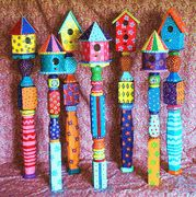 31 Amazing Stand Bird House Ideas For Garden. If you are looking for Stand Bird House Ideas For Garden, You come to the right place. Below are the Stand Bird House Ideas For Garden. This post about S. Peace Pole, Bird Houses Painted, Painted Birdhouses, Birdhouse Pole, Rustic Birdhouses, Birdhouse Ideas, Birdhouse Designs, Garden Poles, Garden Crafts