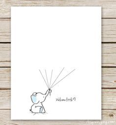Cute Baby Shower Guestbook Free Template  Baby Shower Ideas