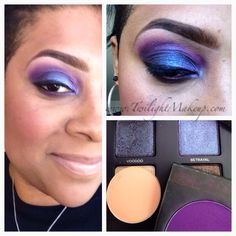 Mac cosmetics and urban decay vice2 shadows