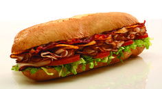 Spice up lunch with a Jammin' Jerk Sub, made with @Boar's Head Jerk Turkey Breast & Chipotle Gouda.