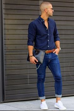 The perfect male street style needs a pair of Ray-Ban sunglasses https://www.smartbuyglasses.com/designer-sunglasses/Ray-Ban/Ray-Ban-RB3449-Highstreet-003/8G-102959.html