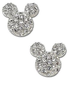 Disney Couture Mickey Mouse Stud Earrings