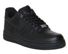 Nike Air Force 1 Lo Black - junior 5d9d678c19