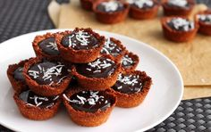 Scientifically Sweet: Salted Chocolate-Coconut Crust Tartlets