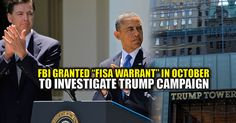 """Insiders: """"ObamaGate Going To Blow Wide-Open This Week"""" And Confirmation Trump Campaign Was Wire-Tapped"""