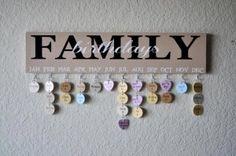 Family Birthday Sign Tutorial