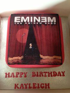 My eminem birthday cake Eminem Birthday, 19th Birthday, Happy Birthday, Birtday Cake, Birthday Cake With Photo, Cute Pastel Wallpaper, Shake, Cupcake, Cookie