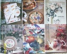 """LOT OF 6 - 1999 """"THE DECORATIVE PAINTER"""" MAGAZINES FROM SDP"""