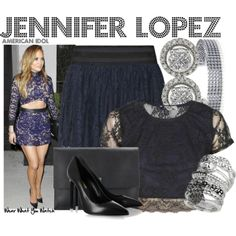 Inspired by Jennifer Lopez's out for the Feb 26, 2014, Top 13 performances of American Idol season XIII.