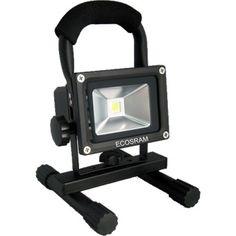 CHARGEABLE LED FLOOD LIGHT 10W