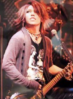 Yuu Shiroyama (Aoi, the GazettE)