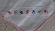 Points, Pot Holders, Alice, Diapers, Cross Stitch, Outfits, Ideas, Bebe, Embroidery