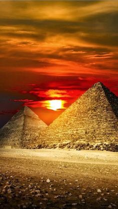 Giza Pyramids Egypt- think about this. Scientist have confirmed that the ancient Egyptians could not lift those bricks with ramps or not! The pyramids were also confirmed 10,000 years old, when thy were told to be 5,000 so what was there back then? The Chinese? The Mayans? Or something else... ( if u like Stargate, the gou'ld did it with Unus )