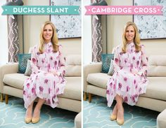 "Sit in the ""Duchess Slant."" - GoodHousekeeping.com"
