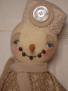 Beehive Cottage - Folk Art Dolls
