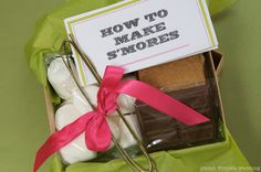 Cheap DIY Wedding Favor Ideas | DIY Hot Cacao Chocolate Favors and S'mores Kits | At Home with Kim ...