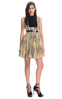 Combo Faux Shirt Dress from Jason Wu