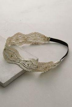 Anthropologie Passementerie Headband #anthrofave | Accessory ; Headband