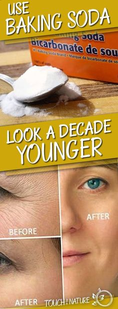 Use Baking Soda This Way to Look a Decade Younger