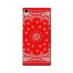 Sony Xperia Z5 Premium Red Bandana Case