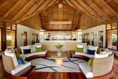 Spa reception - Kanuhura Maldives. Thats me! Hahaha