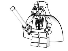 Darth Maul Star Wars Free Coloring Pages