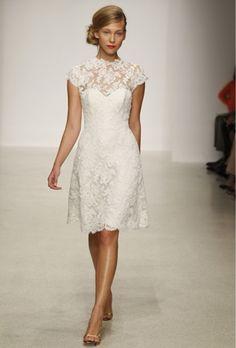 Bodas Cucas: Vestidos de novia cortos para ser la mas cuca Más
