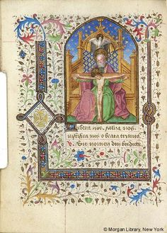 Book of Hours, MS M.196 fol. 101v - Images from Medieval and Renaissance Manuscripts - The Morgan Library & Museum