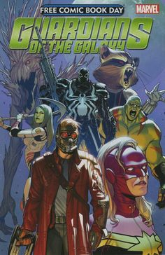Free Comic Book Day 2014 - Guardians of the Galaxy (Marvel) #1 FCBD Edition