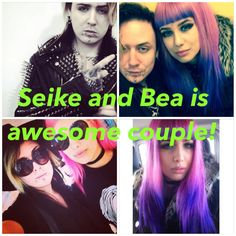 I did this pic of Seike and Bea. What do you think guys about this pic?