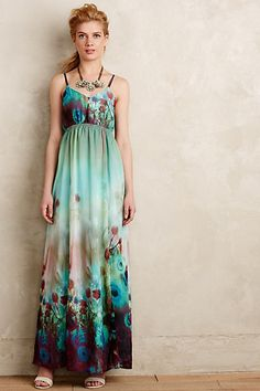 Nahla Maxi Dress #anthropologie