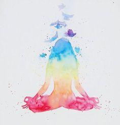 Corpo in salute, respiro profondo e spirito leggero che vola alto nell'infinito! #creatività #yoga #benessere