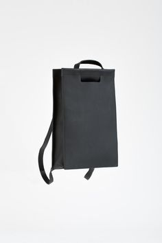 Frost Tote Pack Black | CHIYOME - Minimalist Handbags